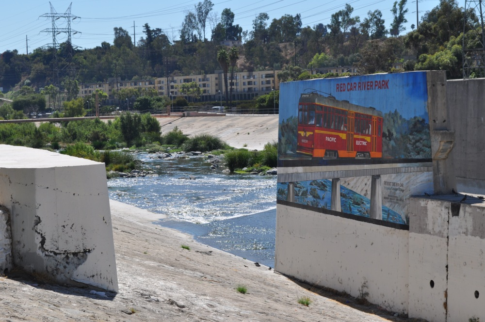 About fly fishing in the Los Angeles River
