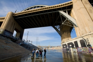 Get to know the river, up close and personal, like this shot under the Sixth Street Bridge. (Courtesy FOLAR)