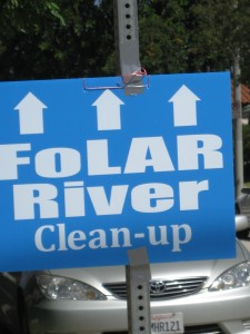 The next FOLAR river cleanup is slated for Saturday, May 18.(Barbara Burns)