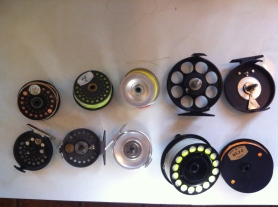 If you've fishing the L.A. River, at least once a season, think about cleaning your reel. (Jim Burns)