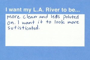 Although obviously written by a child, the sentiment holds. (courtesy Mylariver.org)