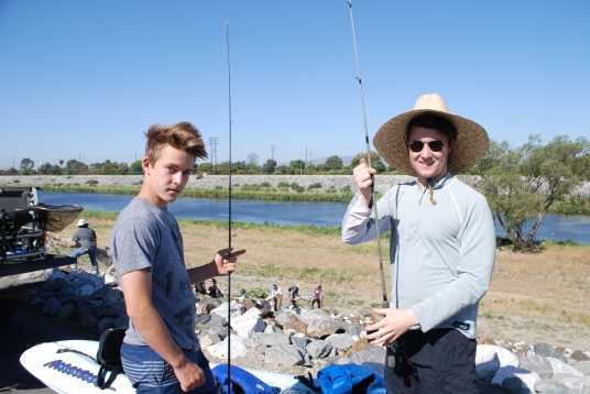 ALL IN: Are you ready to discover fishing in a restricted area of the river in Long Beach? 9William Preston Bowling)