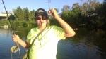 GOTCHA: Small fish=big fun for Ansel Trevino. (Roland Trevino)