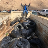 Owens River Clean Up takes out the trash
