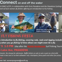 Calendar item: Women's Fly Fishing Fiesta at Orvis on May 5